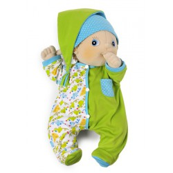 Baby-Outfit Green Pyjama