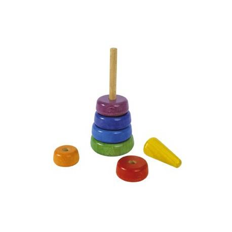 Steckspiel-Farbturm