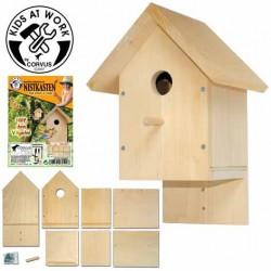 Vogelhaus-Nistkasten Bausatz