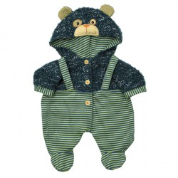 Baby-Outfit Teddybear Overall