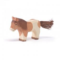 Holztier: Shetland Pony