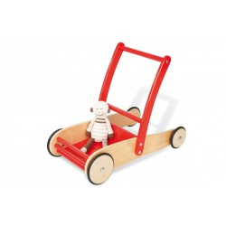 Lauflernwagen Uli rot