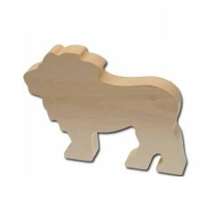 Holzrohling Löwe