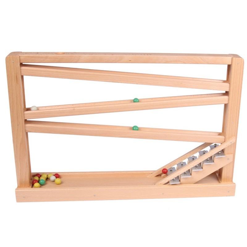 Kugelbahn mit Glockenspiel