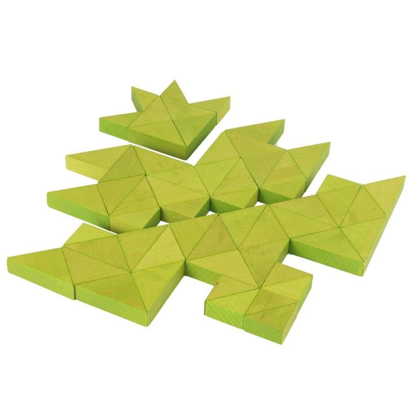 Trioko Dreiecke grün