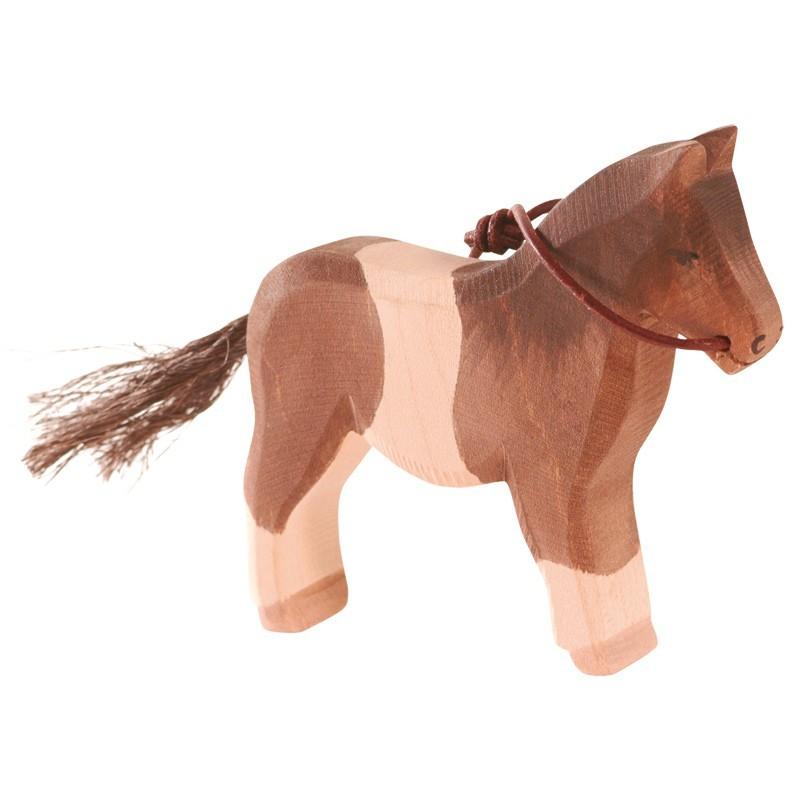 Holztier: Pony