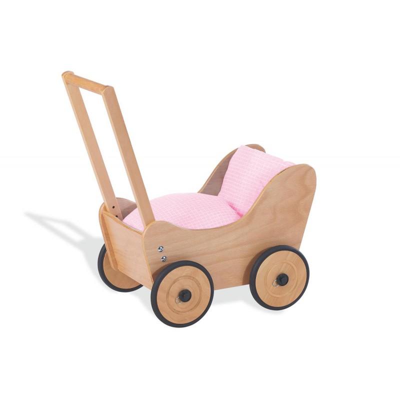 Puppenwagen Holz Lebenshilfe ~ Puppenwagen  Sarah   waelderspielzeug