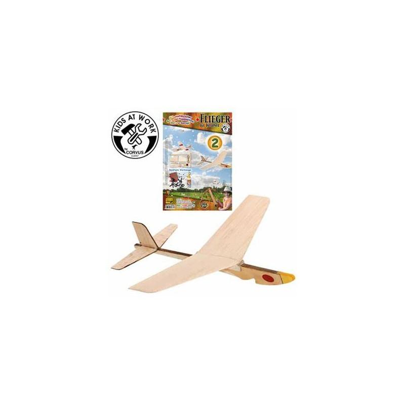 Flieger aus Balsaholz - Bausatz