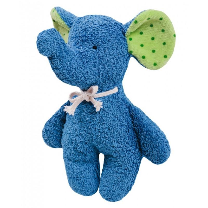 Rassel Elefant blau