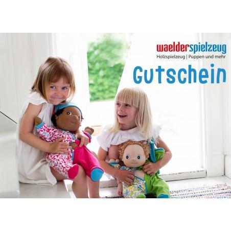 Geschenkgutschein für Puppenfans
