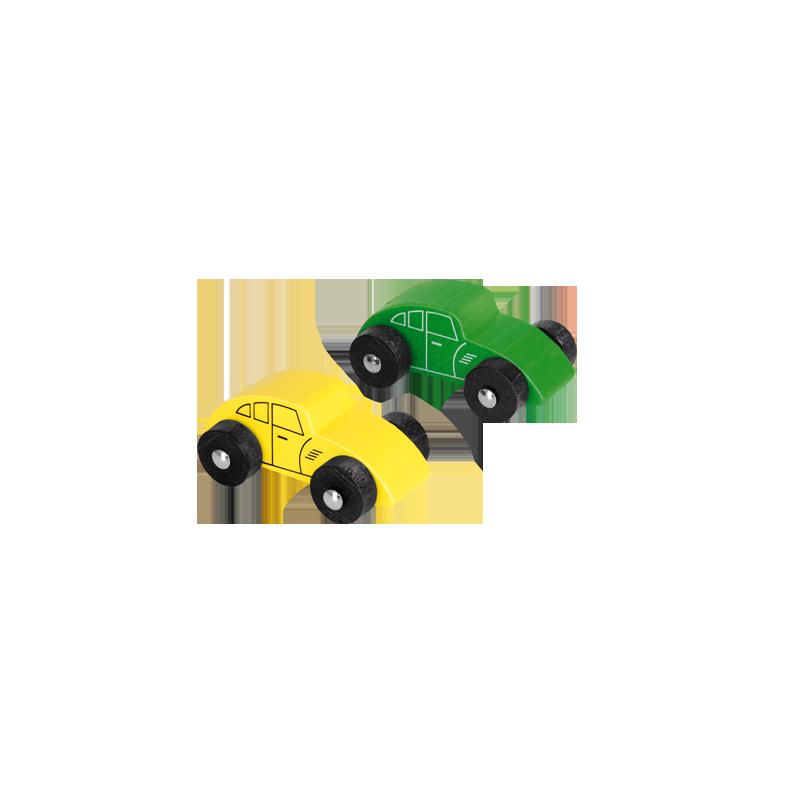 Holzauto 2er Set