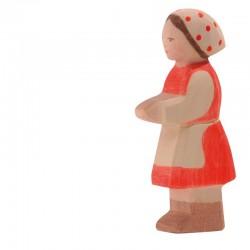 Holzfigur: Heidi
