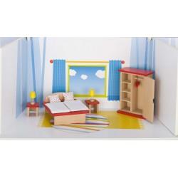 Puppenhaus Schlafzimmer