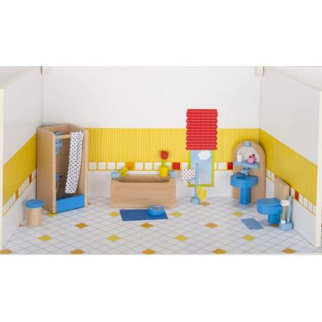 Puppenhaus Badezimmer - waelderspielzeug