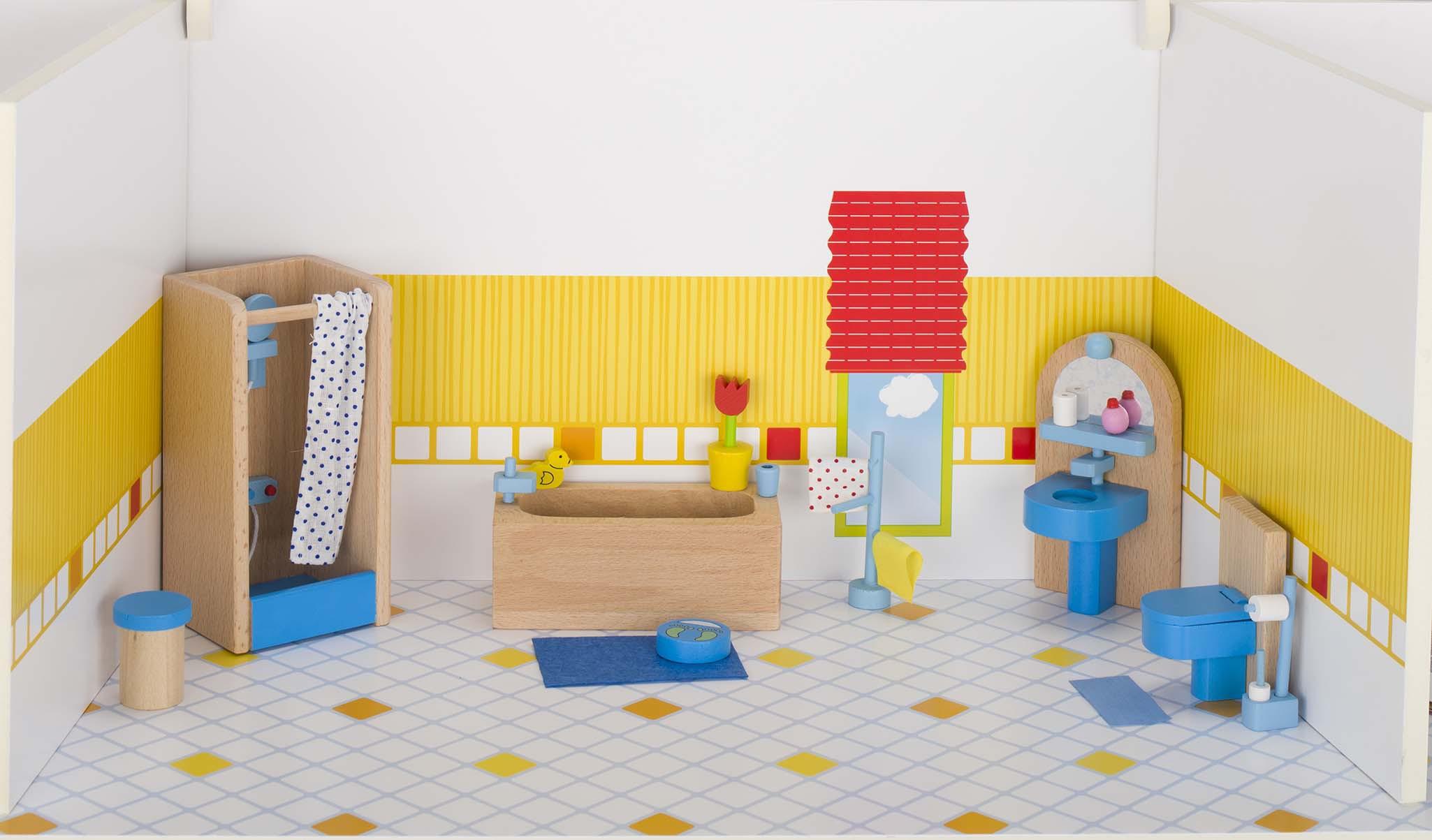 puppenhaus badezimmer | jtleigh - hausgestaltung ideen, Badezimmer ideen