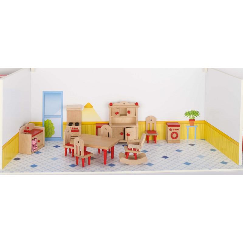 Puppenhaus Küche waelderspielzeug