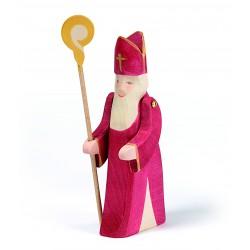Holzfigur: St. Nikolaus