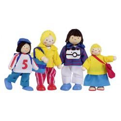 """Puppen """"Urlauberfamilie"""""""