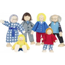 """Puppen """"City Familie"""""""