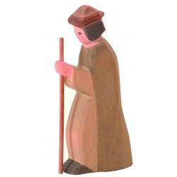 Holzfigur: Hirte stehend II