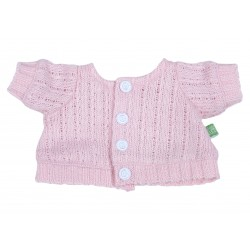 Kids-Outfit Pink Cardigan