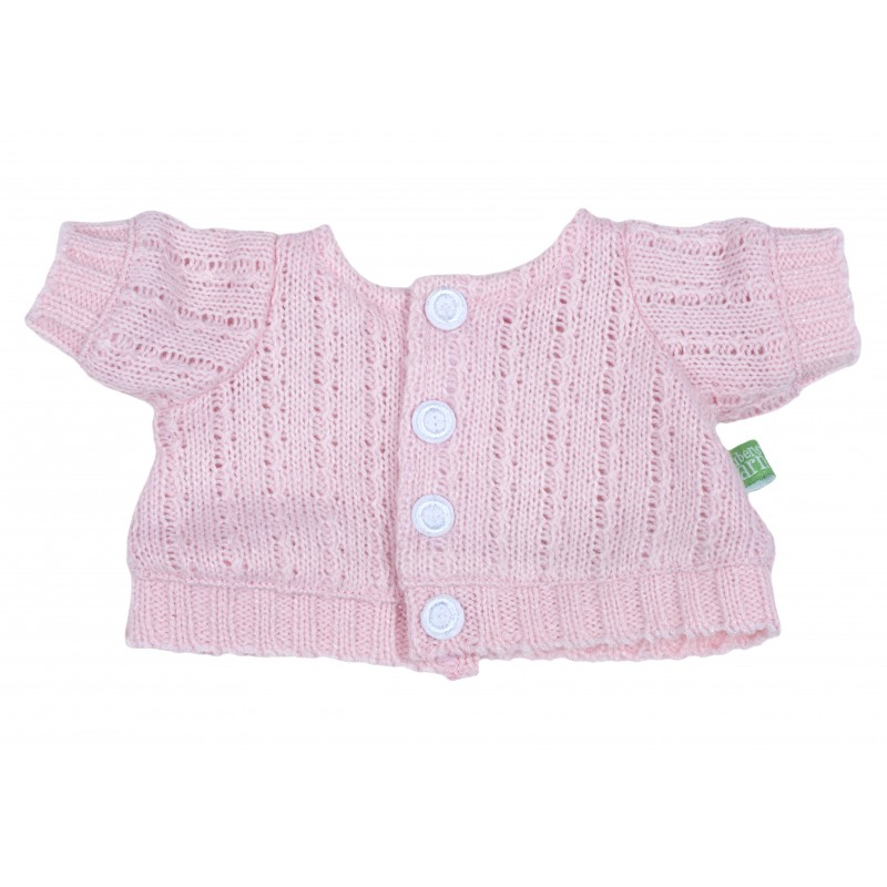 Outfit Pink Cardigan