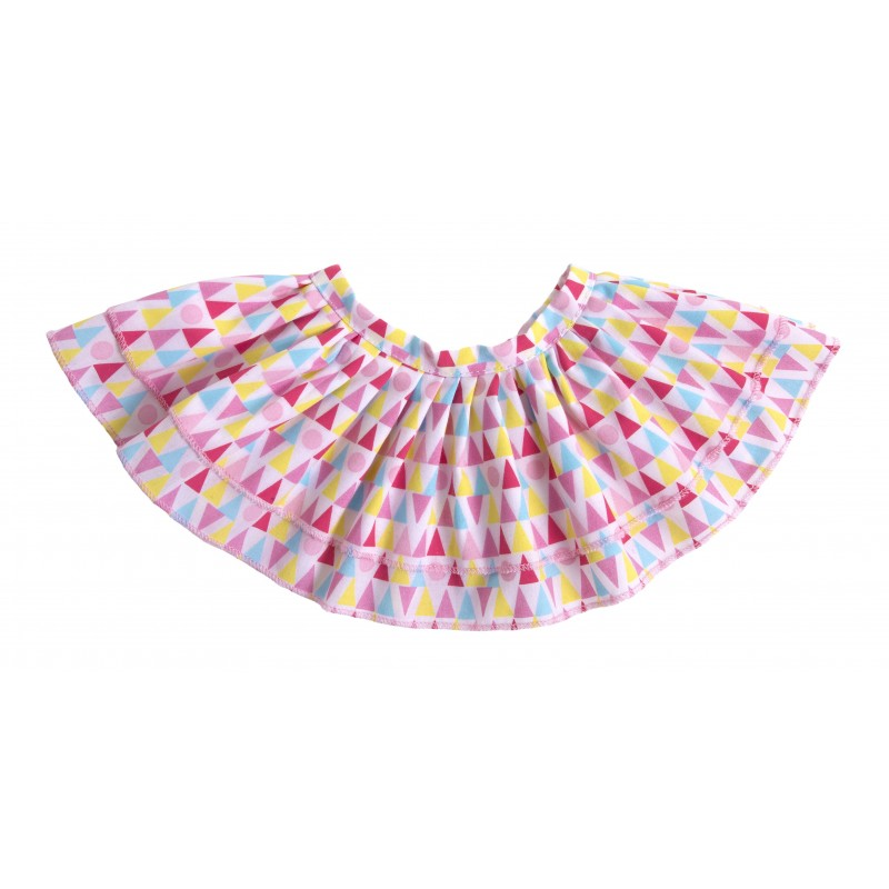 Kids-Outfit Geometric Skirt