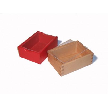 Holzbox natur mit Plexiglasdeckel