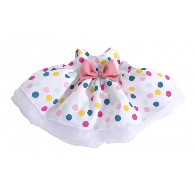 Kids-Outfit dot dress