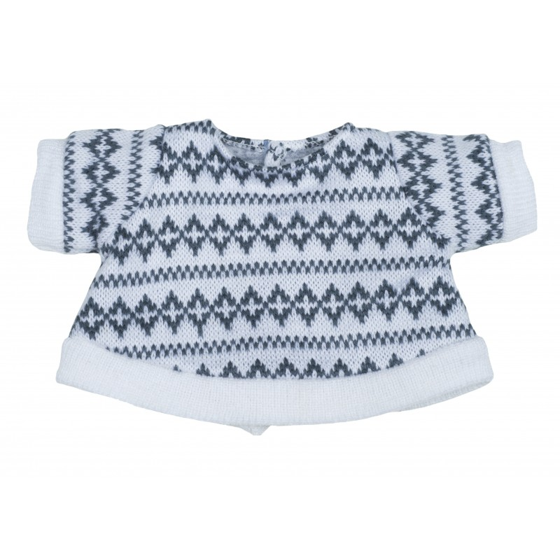 Kids-Outfit grey pullover
