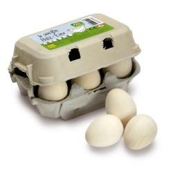 Holz Eier