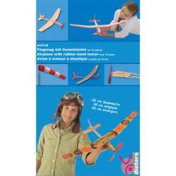 Bausatz Gummimotorflugzeug