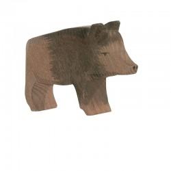 Holztier: Wildschwein Bache
