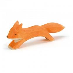Holztier: Fuchs groß laufend