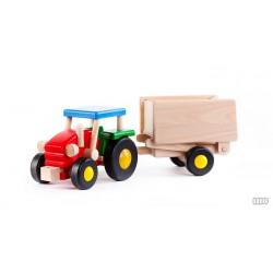 Traktor mit Anhänger