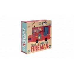 """Puzzle """"I want to be Fireman"""""""