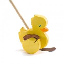 Ente zum Schieben
