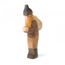 Holzfigur: Knecht Ruprecht