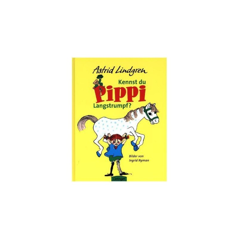 Buch: Kennst du Pippi Langstrumpf?