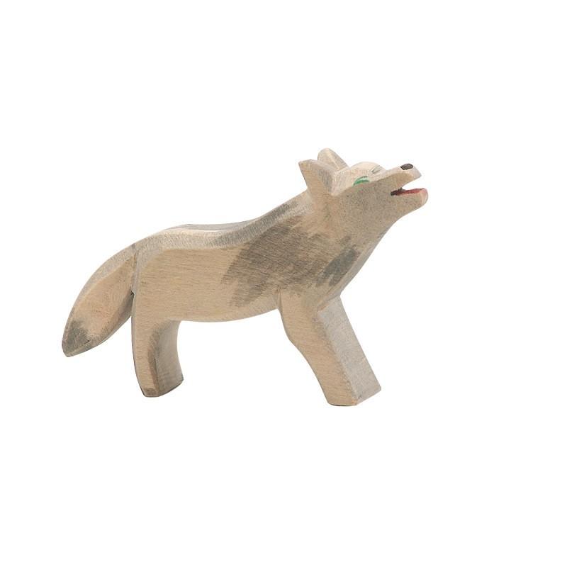 Holztier: Wolf
