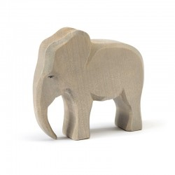 Holztier: Elefantenbulle