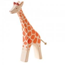 Holztier: Giraffe groß laufend
