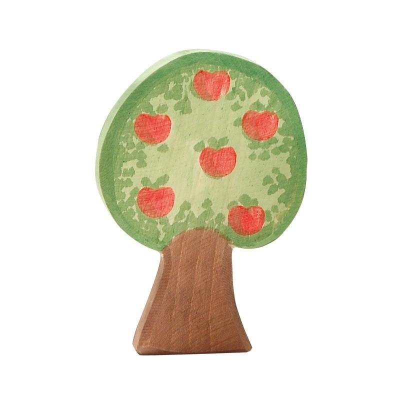 Holzfigur: Apfelbaum