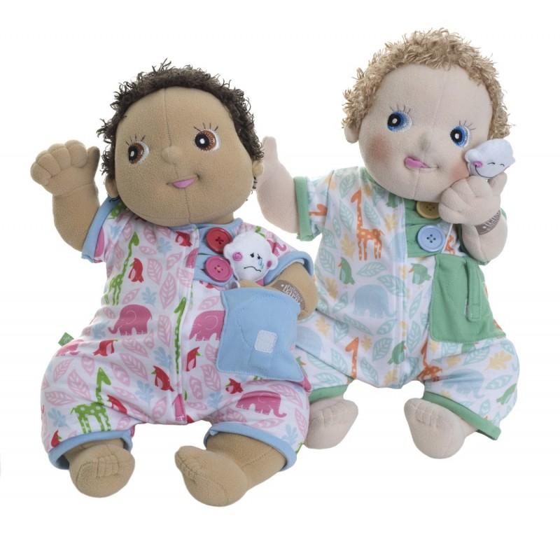 Baby Outfit Pyjama mit Seitentasche