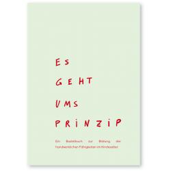 """Bastelbuch """"Es geht ums Prinzip"""""""