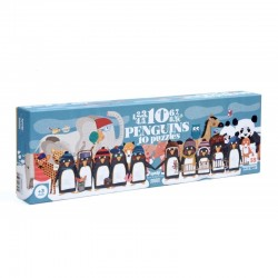 1,2,3,4,5,6,7,8,9,10 Penguins 10 Puzzles