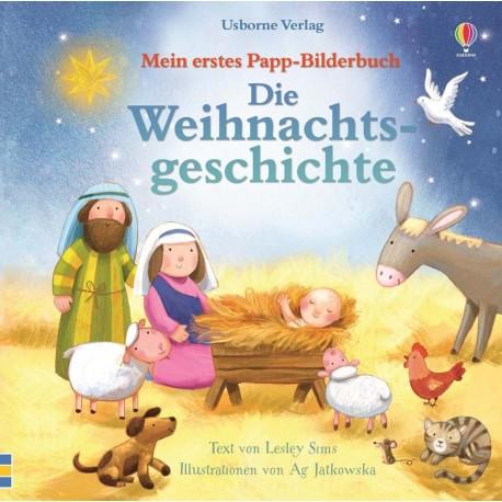 Die Weihnachtsgeschichte - Mein erstes Pappbilderbuch