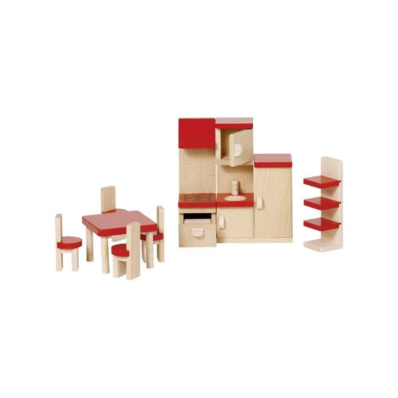 Küche Puppenhaus 9-teilig