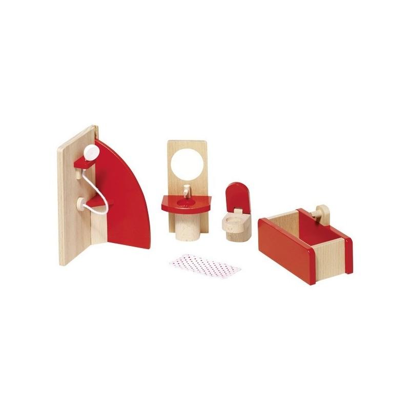 Puppenhaus Badezimmer 5-teilig