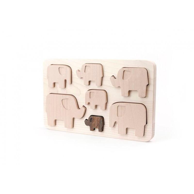 Elefanten Puzzle